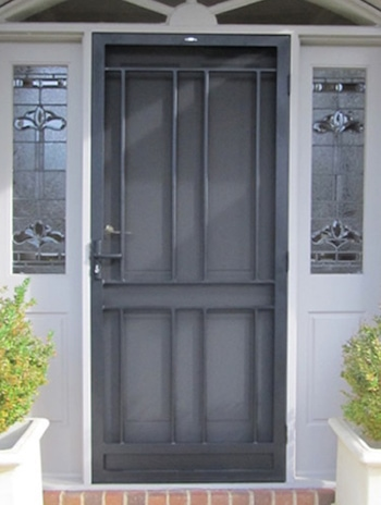 Aspendale Steel Security Door
