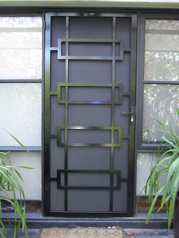 Beaumaris steel security door for Metal security doors