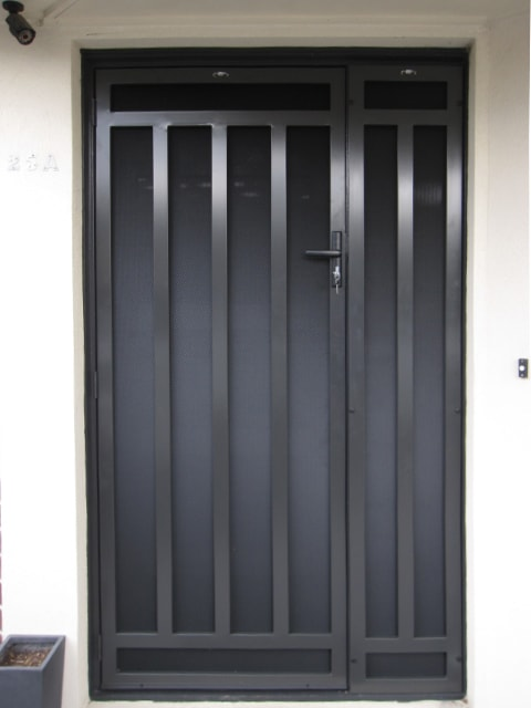 Steel Security Doors : Steel security door cost prices