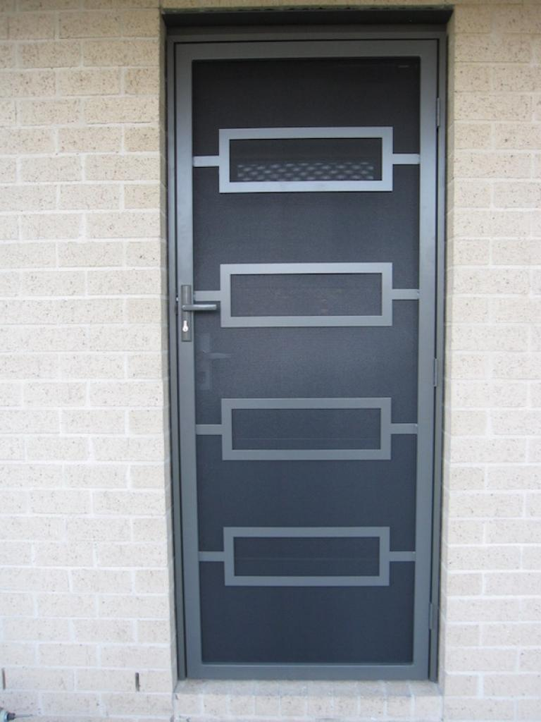 Steel Security Doors : Sandringham steel security door