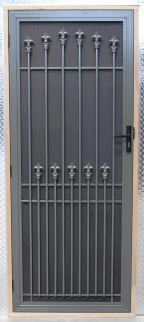 IMG_5204-288x640 & BENDIGO Aluminium/Steel Security Door