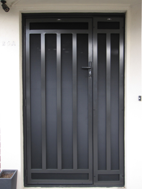 Huntingdale steel security door for Metal security doors