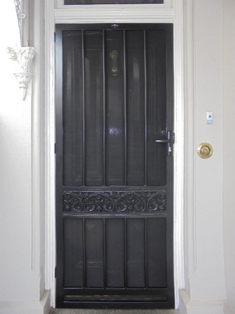 Williamstown steel security door for Metal security doors