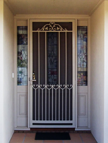 & Mont Albert Steel Security Door
