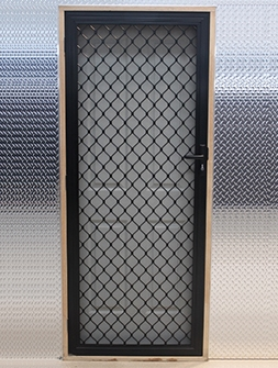 7mm Aluminium Mesh Security Screen Doors Msd Melbourne