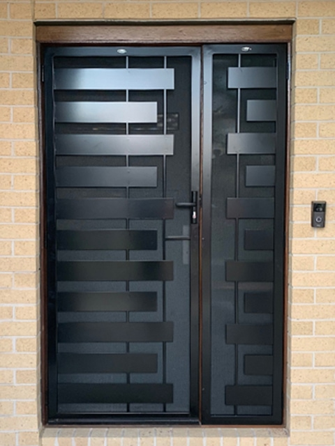Geelong Steel Security Door