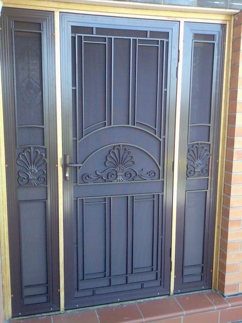 Sp14ab Cast Aluminium Security Screen Doors Msd Melbourne